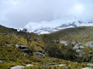 Nevado Hualcán, Cordillera Blanca, Perú