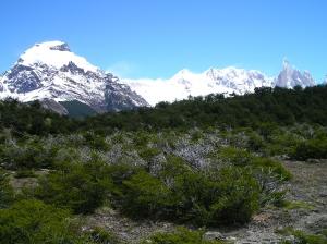 Cerro Solo, Cordón Adela y Cerro Torre, Parque Nacional Los Glaciares, cerca de El Chaltén (Argentina)