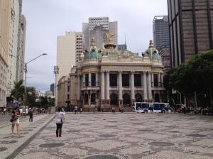 Teatro Municipal, Praça Floriano