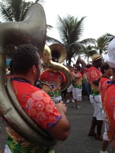"""La fanfare du """"bloco"""" Banda de Ipanema"""