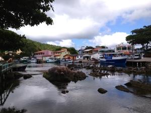 Barra da Lagoa, le long du canal