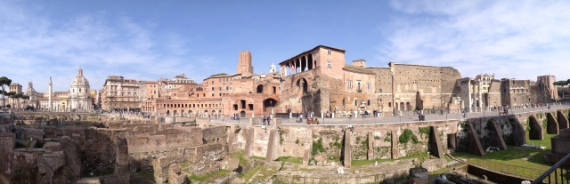 Fori imperiali di Roma antica